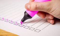 Checklist, Check, List, Marker