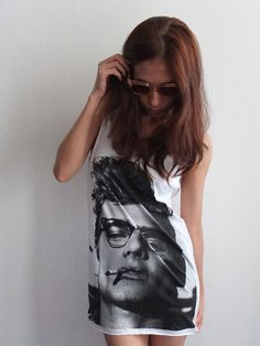 d7fd9a95d Details about James Franco James Dean Movie Tribute Fashion Tank Top M