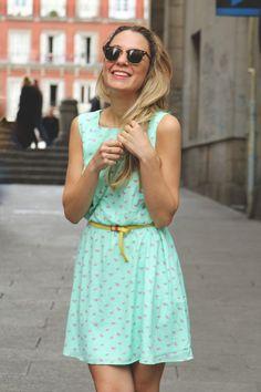 mint dress. / un vestido así por favor :D