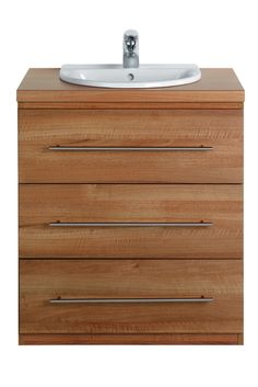 Ideal Standard Create 750mm Vanity Chest in Walnut