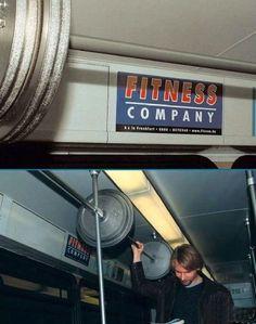 Реклама на фитнес компания