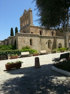Bellapais, Kyrenia, Cyprus Girne,KKTC