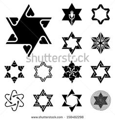 Star of David Tattoo - a gallery on Flickr | Tree Tattoo ...