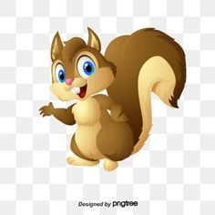 Untitled Animal Illustration Squirrel Clipart Cartoon Clip Art