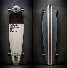 Dimension Two Longboards by Gregor Zakelj, via Behance