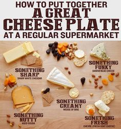 A good, unfussy CHEESE PLATE | 26 Foods You Should Learn To Cook In Your Twenties