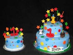 DIY First birthday cake decorations for boys