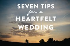 Great informational post for those wanting to have a meaningful wedding day.