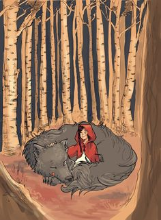 Little Red Riding Hood by AngieMyst