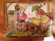 Childrens Vintage Cubed Jigsaw Puzzle  | eBay