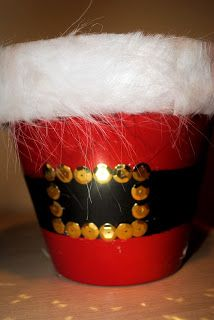 Diary of a Preppy Mom: {Christmas Craft Week: Day 2 - Santa's Belly Candy Dish}