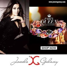 Slay like the blue-eyed beauty Aishwarya Rai and glam up your ethnic avatar.  Buy: http://www.jewelsgalaxy.com/products/luxuria-limited-edition-jewellery-bangles--bracelets-le/jewels-galaxy/splendid-luxuria-sparkling-multicolor-vine-aaa-swiss-cubic-zirconia-24k-rose-gold-plated-sparkling-b/pid-11981084.aspx #celebstyle #jewelry #alwaysbeautiful #instalike #instashare #instalook #instalove #celebritylove #celebritystyle #jewelrylove