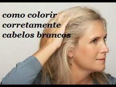 Como cobrir cabelos brancos corretamente | Colorimetria Capilar