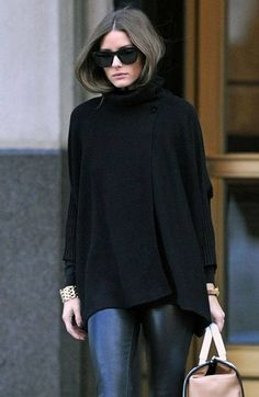 Olivia-Palermo-Street-Style-Turtle-Neck-Tricot