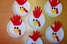 Instructions to make your own Rooster for Chinese New Year