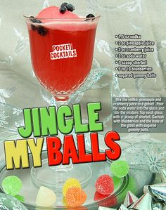 Millions of People Enjoy Pocket Cocktails. Check out our World Famous Drink Posters. Christmas Drinks Alcohol, Mixed Drinks Alcohol, Alcohol Drink Recipes, Holiday Drinks, Summer Drinks, Mixed Alcoholic Drinks, Liquor Drinks, Vodka Drinks, Frozen Drinks