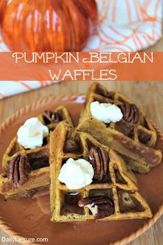 Pumpkin Belgian Waff