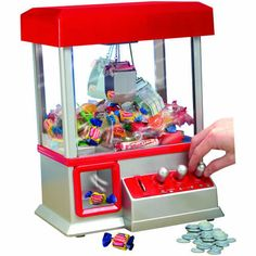 As Seen on TV The Claw Electronic Candy Toy Machine Arcade Game w/ Music