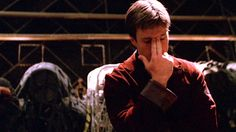 If I could sum up the show in one pic. Serenity Now, Firefly Serenity, Abc Shows, Great Tv Shows, Nathan Fillion Firefly, Firefly Tv Series, Malcolm Reynolds, Science Fiction Series, Space Cowboys