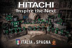 Questa sera i nostri ragazzi affronteranno la delicata sfida contro la Spagna. Servirà una grande prestazione, ma soprattutto conterà l'unione di squadra per uscirne vincenti!  Noi vi vogliamo presentare il nostro imbattibile Team di elettroutensili a batteria!  #UnionefaLaForza #ForzaAzzurri #ItaliaSpagna #cordless #Hitachi #InspireTheNext