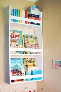 Półka na książki – biblioteczka Bambooko