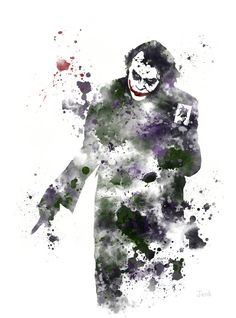 Hey, I found this really awesome Etsy listing at https://www.etsy.com/ru/listing/204725473/the-joker-batman-art-print-10-x-8