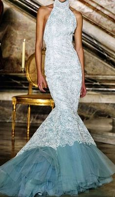 Givenchy Blue Wedding Gown Keywords: #weddings #jevelweddingplanning Follow Us: www.jevelweddingplanning.com  www.facebook.com/jevelweddingplanning/