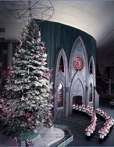 1961 Ford Rotunda Christmas Display--- I remember I was so in awe over the doll display when I was young-