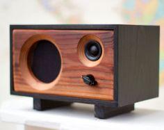 NEW Wood Speaker System  Wireless Bluetooth by SalvageAudio