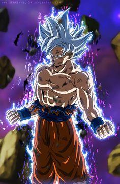 Goku Perfect Ultra Instinct - Silver Goku EP.129 by SenniN-GL-54.deviantart.com on @DeviantArt