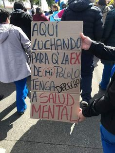 Chile. Cartel una de tantas marchas Memes, Books, Frases, Political Posters, Health, Equality, Libros, Meme, Book