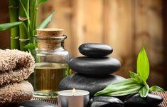 Обои картинки фото spa, zen, stones, candles, bamboo, спа, камни