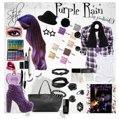 """Purple Rain"" by jowilson69 on Polyvore"