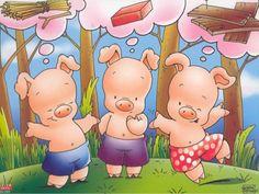 Three Little Pigs Pig Drawing, Storybook Characters, Three Little Pigs, Album, Nursery Rhymes, Preschool Activities, Storytelling, 3 D, Fairy Tales