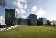 Digital Park in Bratislava, Slovakia by Cigler Marani Architects