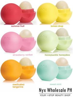 Smooth on. Eos is the lip balm that makes you smile. Eos lip balm is organic, natural, and paraben and petrolatum free. Eos Lip Balm, Lip Balms, Eos Products, Best Makeup Products, Beauty Products, Eos Summer Fruit, Eos Chapstick, Strawberry Sorbet, Beeswax Lip Balm