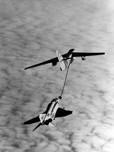 KA-3B refueling a F-4B