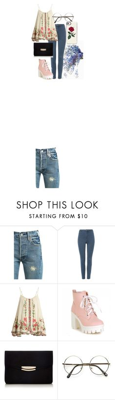 """Untitled #39"" by iulianaenache526 on Polyvore featuring Levi's, Mes Demoiselles... and Casetify"