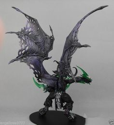 """WOW WORLD OF WARCRAFT """"ILLIDAN"""" 2010 NEW EDITION FIGURE Action Figure toy"""