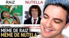 RAIZ x NUTELLA - OS MEMES MAIS ENGRAÇADOS!