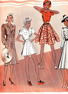 what-i-found: Let's get ready for summer! 1939