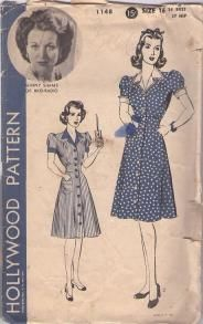 Tons of 40s patterns. Love. It.