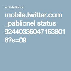 mobile.twitter.com _pablionel status 924403360471638016?s=09