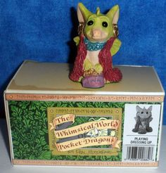 Whimsical World of Pocket Dragons PLAYING DRESSING UP 1994  Real Musgrave E10