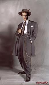 My dad had a zoot suit.
