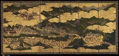 Cherry Blossom Viewing at Itsukushima and Yoshino | Japan | Edo period (1615–1868) | The Met