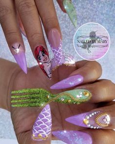 21 Elegant Coffin Acrylic Nails Design You Should Try Right Now – Ocean Themed Nail Art Flower Nail Designs, Nail Designs Spring, Simple Nail Designs, Acrylic Nail Designs, Nail Art Designs, Nails Design, Coffin Acrylics, Coffin Shape Nails, Acrylic Nails