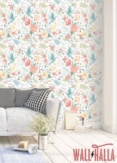 Turn your walls into eyecatchers with this self adhesive wallpaper! This wallpaper features a beautiful print, bound to stand out on any wall. The print featured on your wall will look stunning. The self adhesive vinyl has a vintage flavor and makes quite the impression, but so does the non