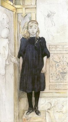 Carl Larsson,  Suzanne, 1894