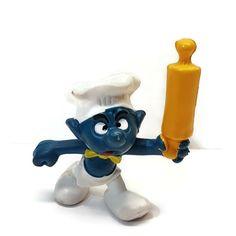 Smurfs 20099 Angry Head Cook Chef Smurf Vintage Peyo Bully PVC Figure  #Bullyland Scottish Bagpipes, Bullying, Smurfs, Ebay, Cook, Cartoon, Vintage, Halloween, Vintage Comics